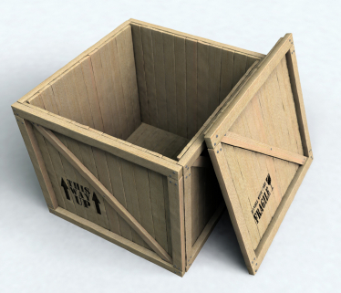 Crates made to Customer's specifications